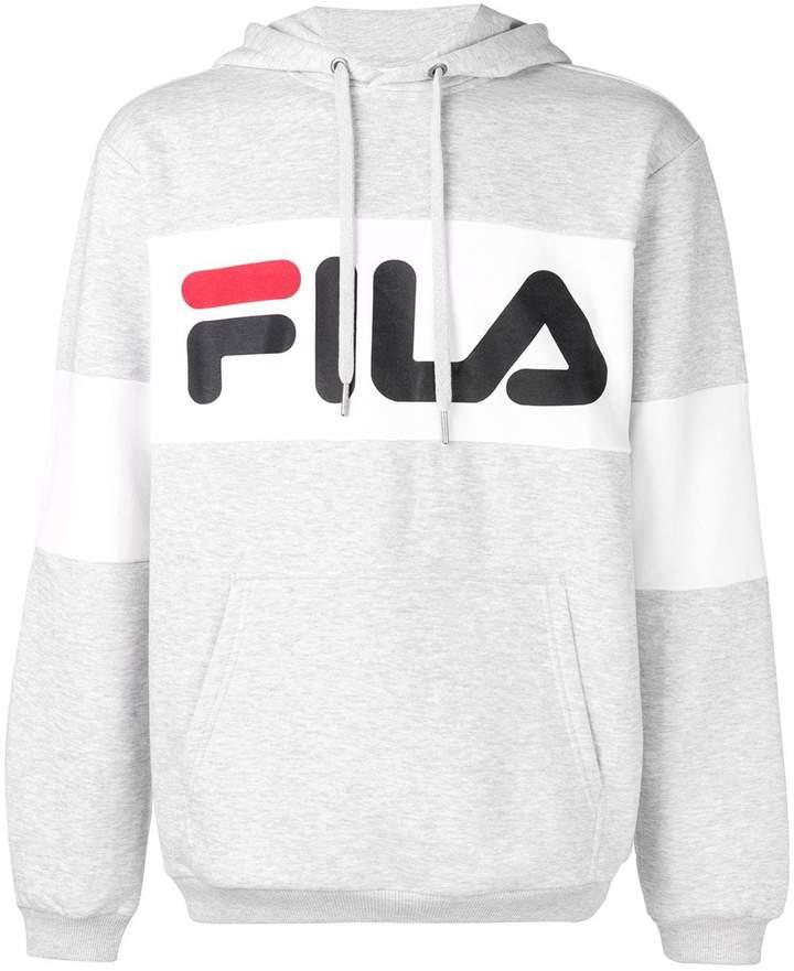 19d64bc6 logo print hoodie
