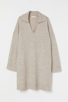 Thumbnail for your product : H&M Collared knitted dress