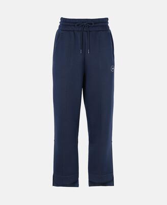 Stella McCartney Blue Tapered Sweatpants, Woman, Navy