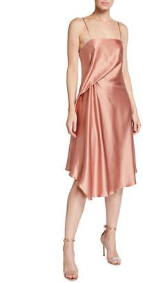 Halston Kaia Silk Slip Dress