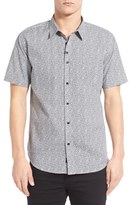 Imperial Motion Men's Microprint Short Sleeve Woven Shirt