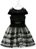 MonnaLisa embellished full dress