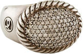 David Yurman DY Signature Oval Pavé Diamond Ring