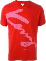 Kenzo signature print T-shirt