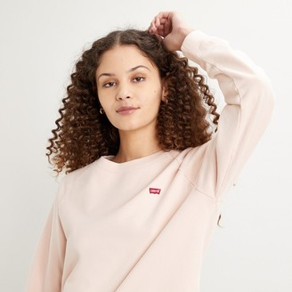 Levi's Crew-Neck Logo Sweatshirt in Cotton