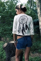 Pencey Jacket in Ivory