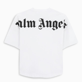 Palm Angels Black logo oversized t-shirt