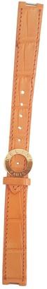 Celine Orange Exotic leathers Watches