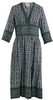 Sea Martine Border silk dress
