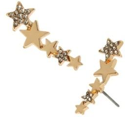 Jessica Simpson Celestial Star Crawler Earrings