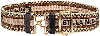 Stella McCartney Webbing Belt in Fawn | FWRD