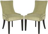Safavieh Mint Sebastian Dining Chair - Set of Two