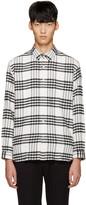 TOMORROWLAND White Flannel Check Shirt