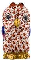 Herend Porcelain Owl Figurine