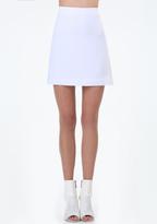Bebe Maggie Twill Miniskirt