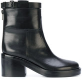 Ann Demeulemeester chunky heel ankle boots
