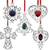 Lenox Set Of 5 Bejeweled Holiday Ornaments