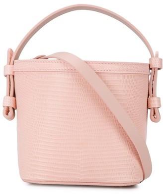 Nico Giani Adenia lizard bucket bag