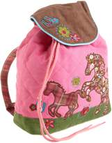 Stephen Joseph Girl Signature Quilted Backpack, Multi