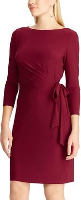 Chaps Women's Side Draped Dress