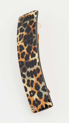 Alexandre de Paris Leopard Barrette