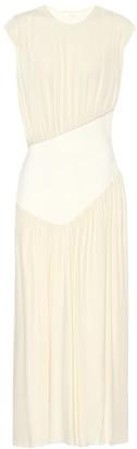The Row Yokoto crepe-jersey dress
