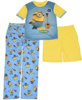 Illumination Entertainment Boys 4-10 Minion 3-Piece Pajama Set