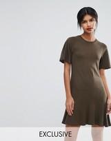 Whistles Drop Hem Exclusive Jersey Dress