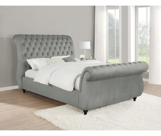 Upholstered Sleigh Bed Shop The World S Largest Collection Of Fashion Shopstyle