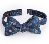 Ted Baker Men's Floral Print Wool Bow Tie