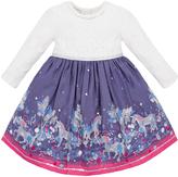 Monsoon Baby Emily Unicorn Dress