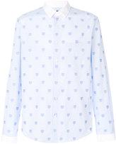 Gucci tiger print shirt - men - Cotton - 39