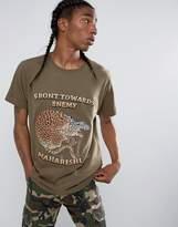 Maharishi Embroidered Crouching Tiger T-shirt