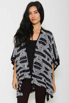 Goddis Mia Reversible Kimono - Noir