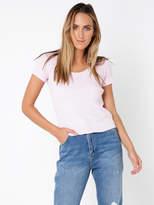 Wrangler Scoop Neck Ribbed T-Shirt