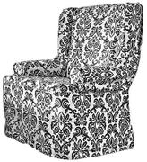 Sure Fit Chelsea Non-Stretch 1-Piece Wrap Wing Chair Slipcover