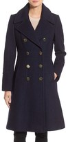 GUESS Women's Fit & Flare Military Coat