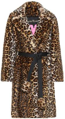 Marc Jacobs Leopard-print faux-fur coat