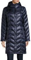 Calvin Klein The Coat Edit Packable Down Chevron Puffer Jacket