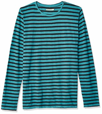 Nudie Jeans Unisex-Adult's Orvar Long Sleeve Striped X-Large