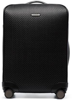 Ermenegildo Zegna Textured Four-Wheel Suitcase