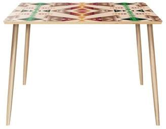 Bungalow Rose Van Horne Dining Table Color: Natural