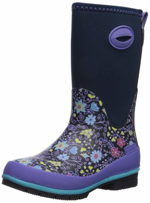 Western Chief Girls' Cold Rated Neoprene Boot with Memory Foam Rain