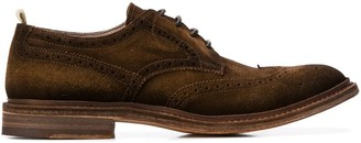 Officine Creative Lace-Up Brogue Shoes