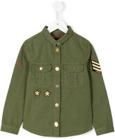 Zadig & Voltaire Kids - military shirt - kids - Cotton - 8 yrs