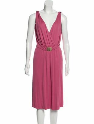 Emilio Pucci Sleeveless Midi Dress w/ Tags mauve