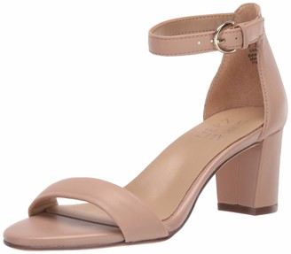 Naturalizer Womens Vera Barely Nude Ankle Straps Sandal 9 W