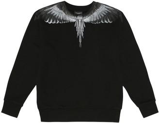 Marcelo Burlon County of Milan Kids Of Milan Wings cotton-blend sweatshirt