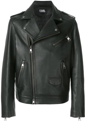 Karl Lagerfeld Paris Classic Biker Jacket