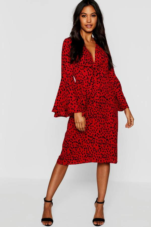 164b25f17f36a boohoo Red Evening Dresses on Sale - ShopStyle